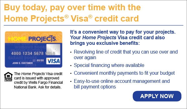 Wells Fargo Home Projects Credit Card Program Apply Now